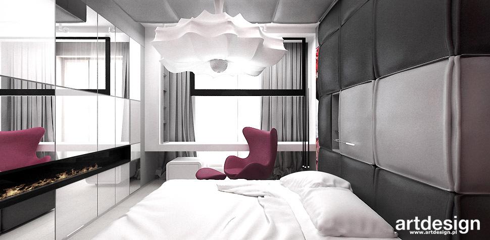 projekt sypialni design