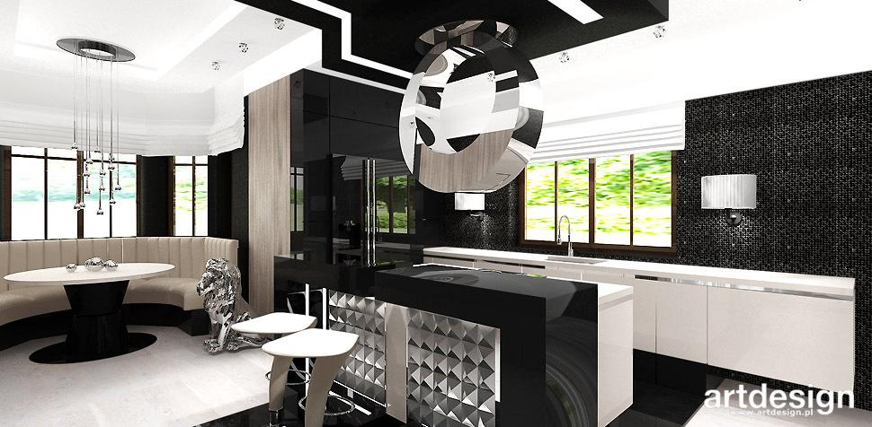 luksusowe wnetrza kuchnia