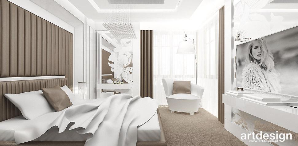najlepsze projekty sypialni