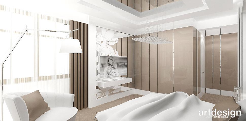 sypialnia bialo bezowa