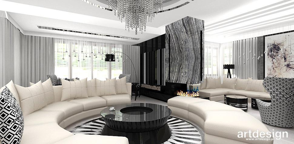 salon okragla sofa