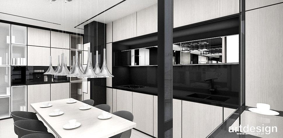nowoczesna kuchnia otwarta
