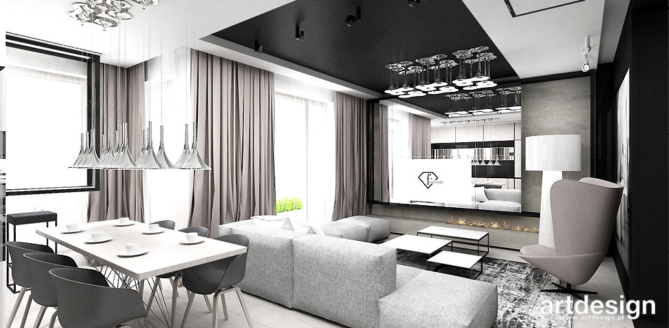 elegancki apartament aranzacja