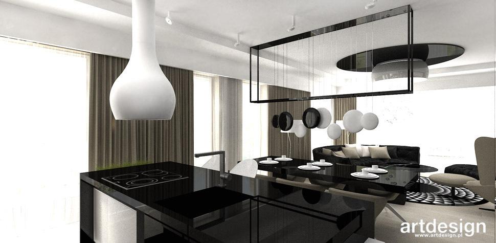 kuchnia czarno biala