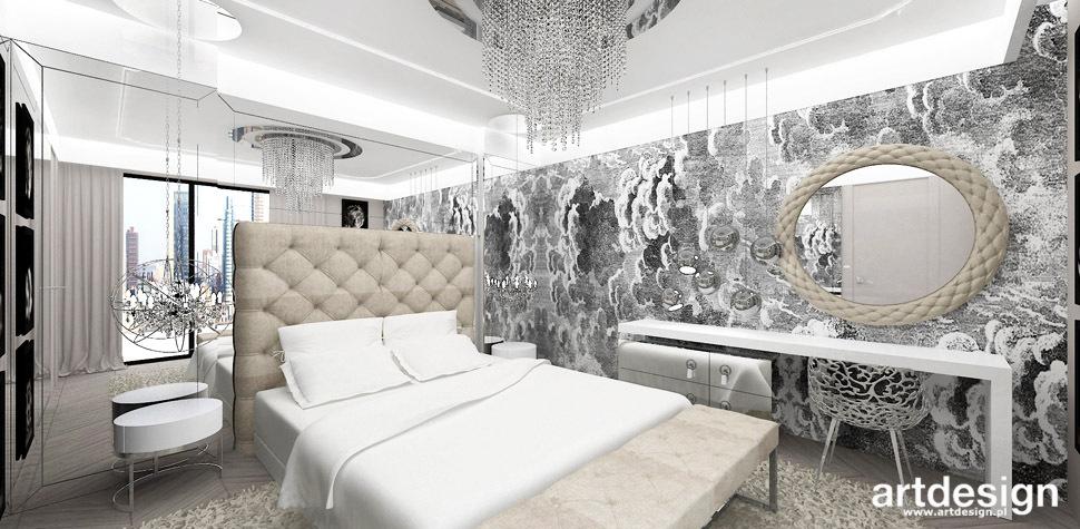 luksusowe wnetrza sypialnia
