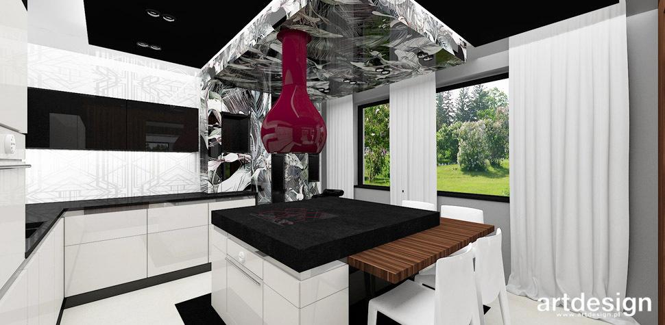 kuchnia dekoracyjny okap