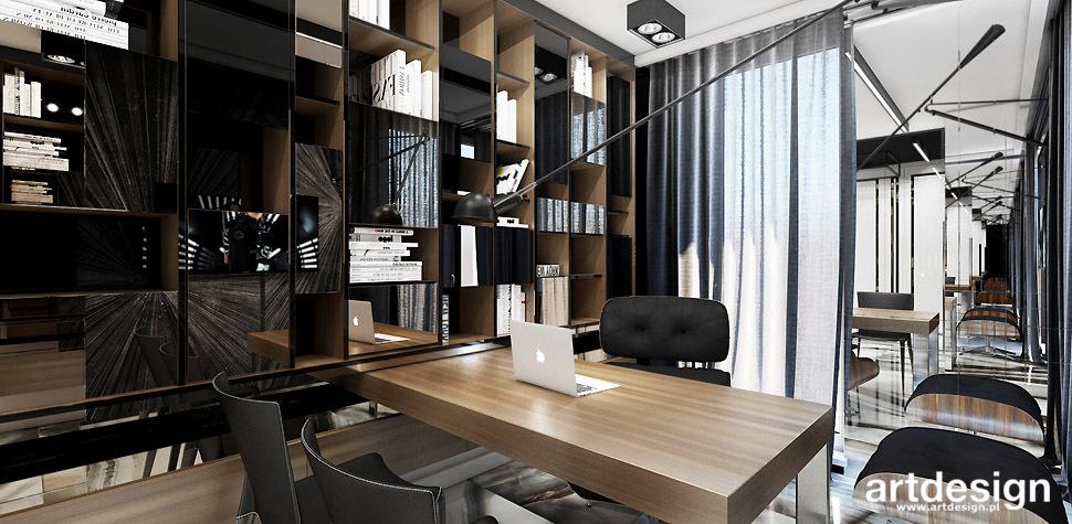 nowoczesne biuro aranżacja