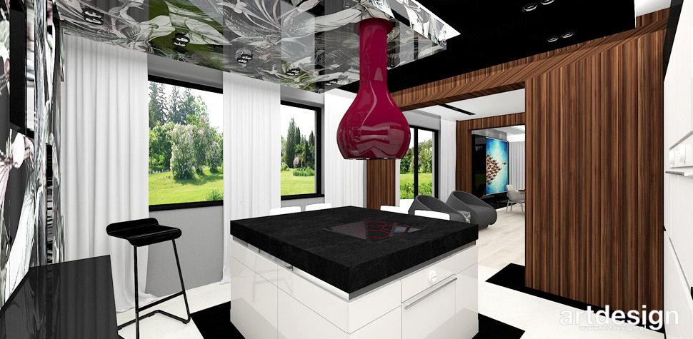 architektura wnetrz kuchnia z wyspa
