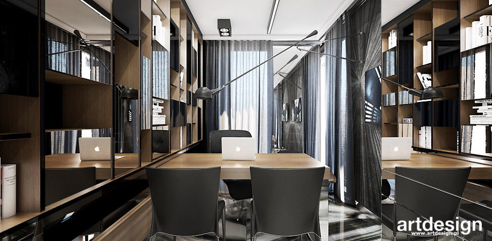 projekty wnętrz biur