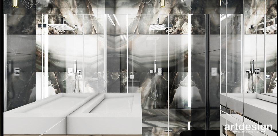 luksusowe wnętrza łazienki