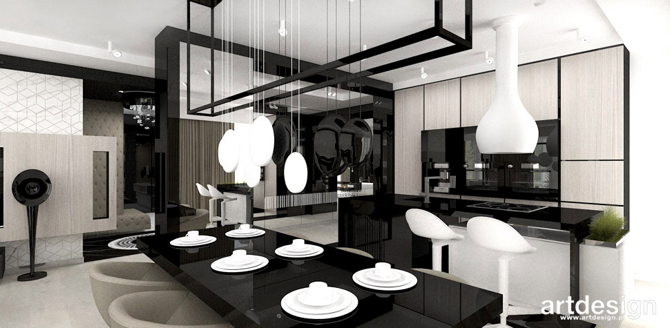 kuchnia jadalnia apartament
