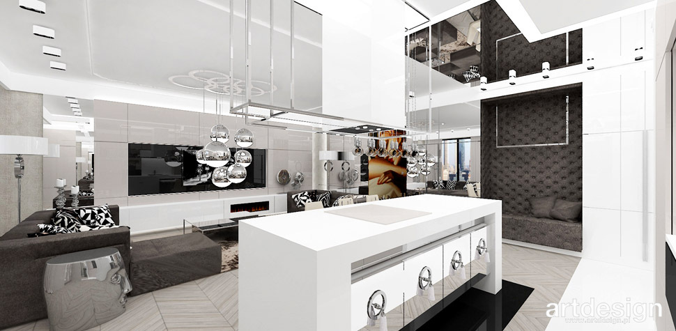 wyspa kuchenna projekt