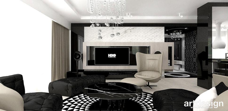 designerskie wnetrza salon