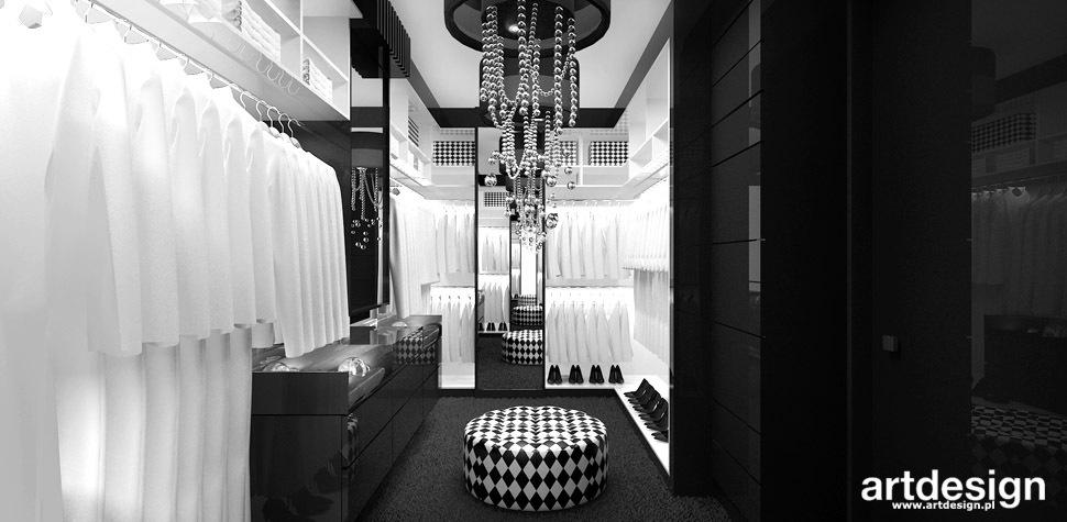 luksusowe wnetrza garderoba