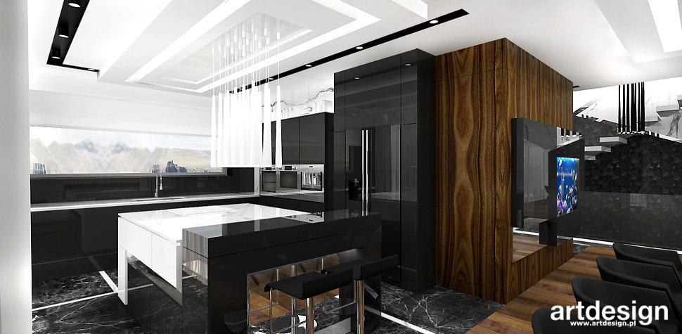 nowoczesna kuchnia projektowanie