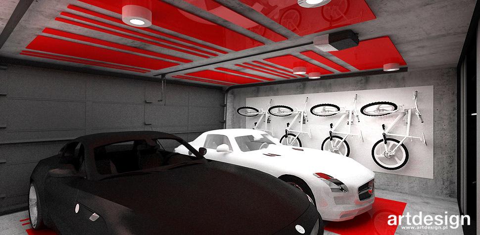 garaz projektowanie wnetrz