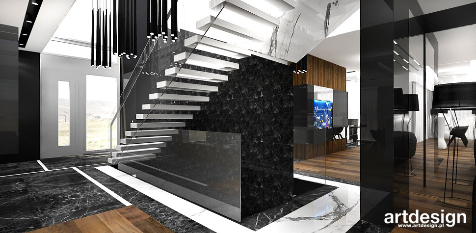 schody wspornikowe projekt