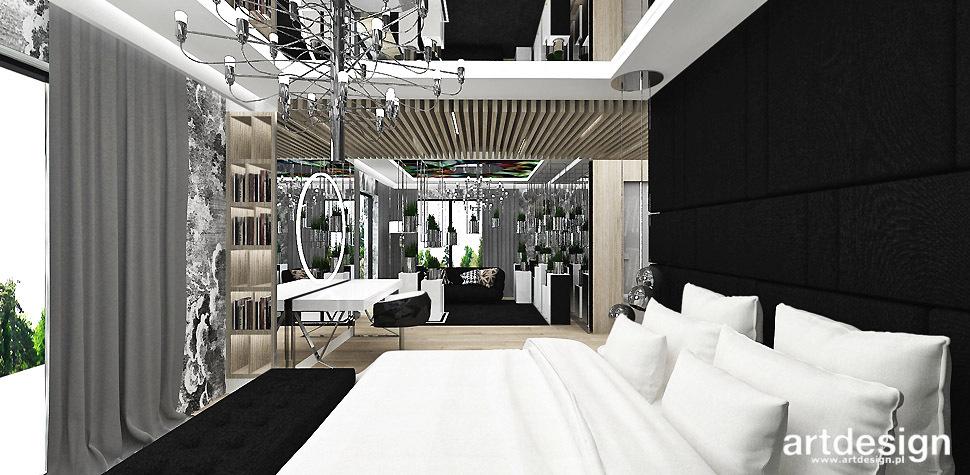 duza sypialnia wnetrze