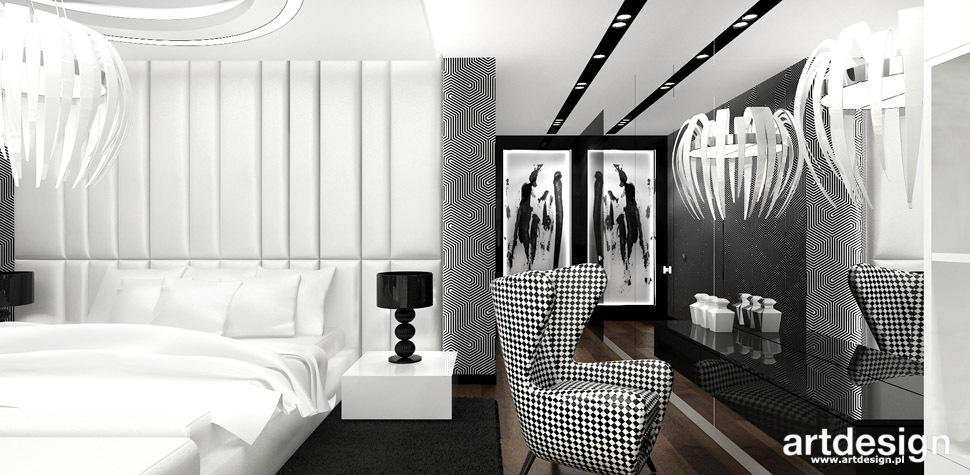 nowoczesna sypialnia projekt