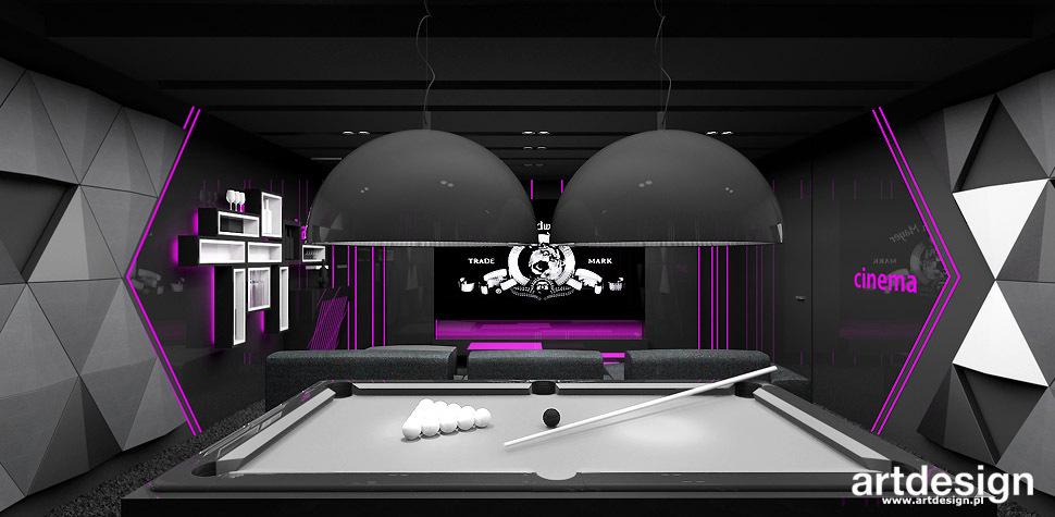 nowoczesny dom pokoj gier