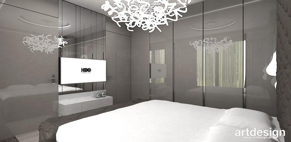 sypialnia w odcieniach szarosci