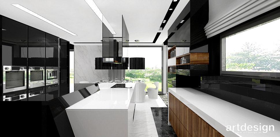 HERITAGE AND CREATIVITY  I  Wnętrze domu  Projektowanie   -> Kuchnia Bialo Czarna Brazowa