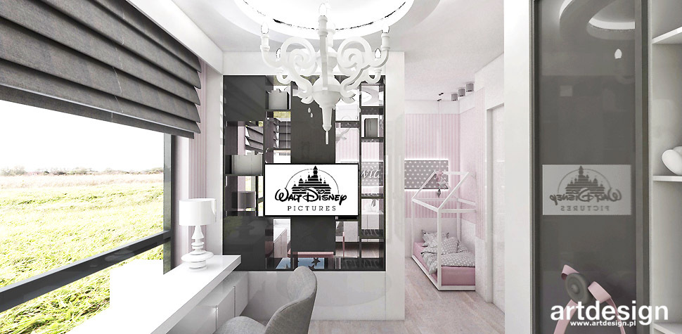 projekty wnetrz pokoje dzieciece