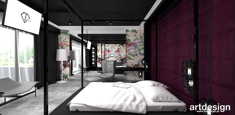 luksusowa sypialnia design