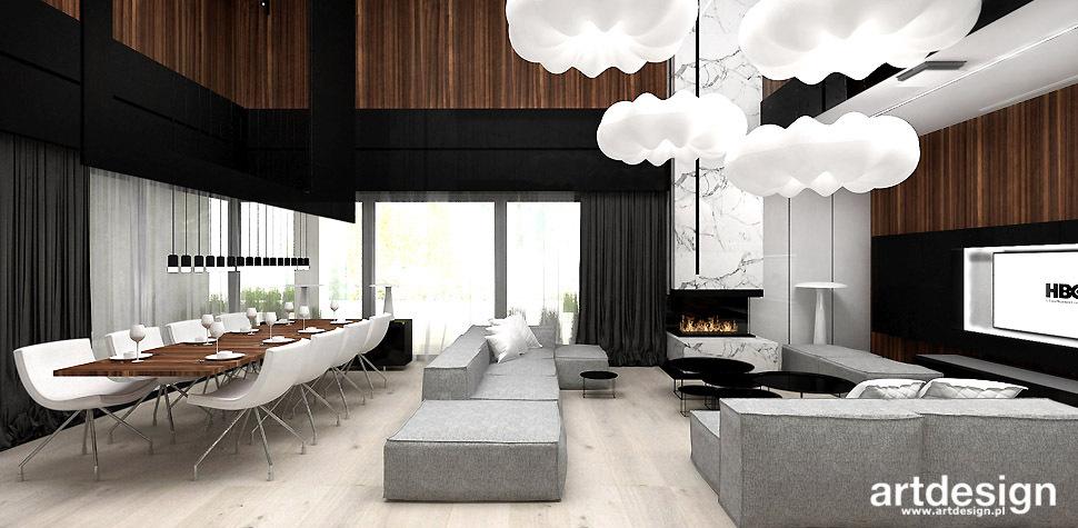 nowoczesne wnetrza salon