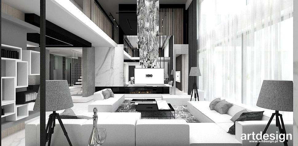 domy luksusowe wnetrza