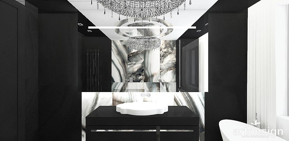 luksusowa łazienka wnętrza