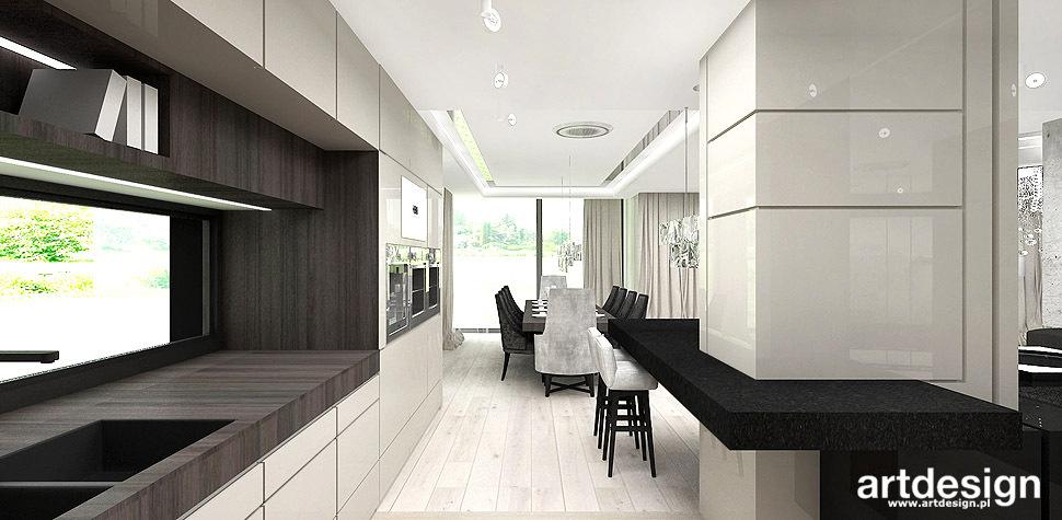 wnętrza domu styl nowoczesny