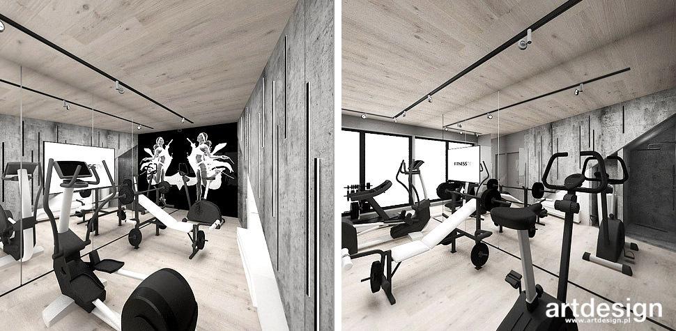 projektowanie domu fitness
