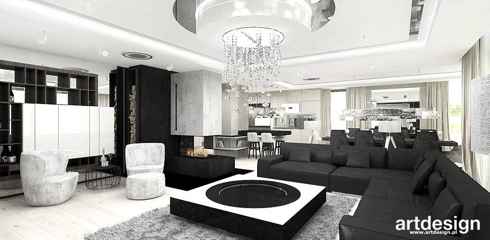 nowoczesne wnętrza salon