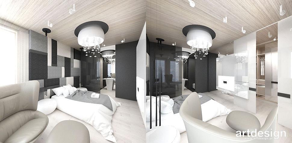 projekty sypialni krakow