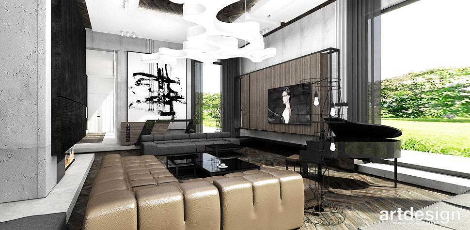 salon styl nowoczesny