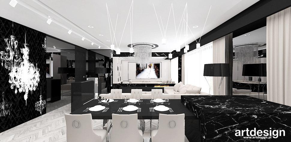 nowoczesny apartament wnętrza