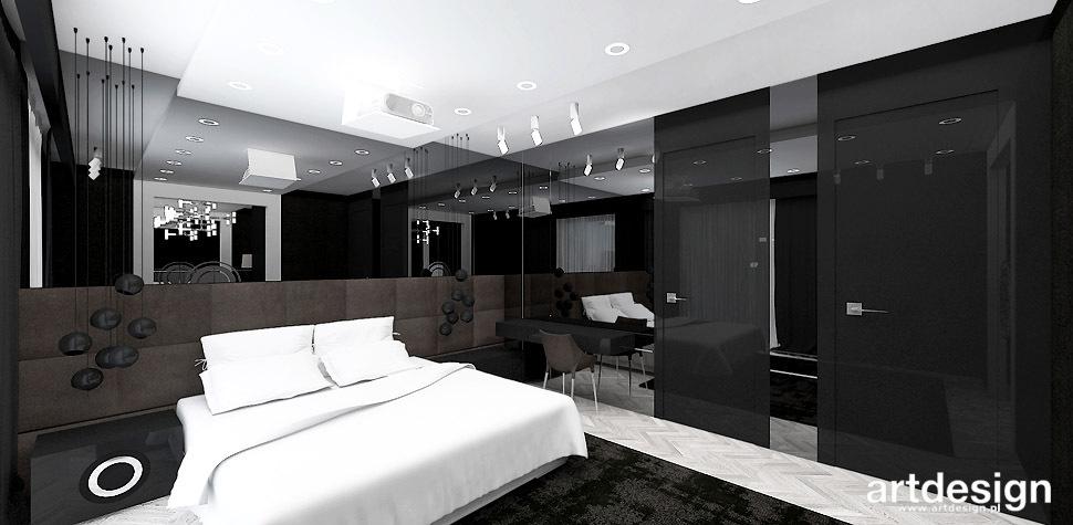 sypialnia luksusowa wnętrza