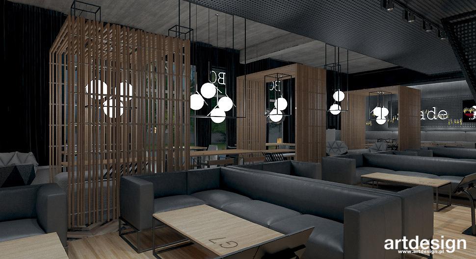 projekty restauracji klubow