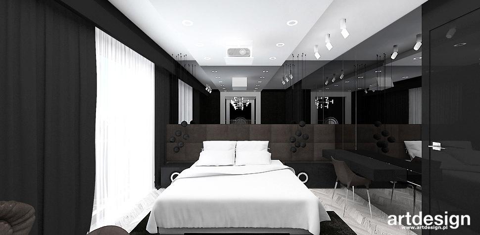 sypialnia wnętrza nowoczesne