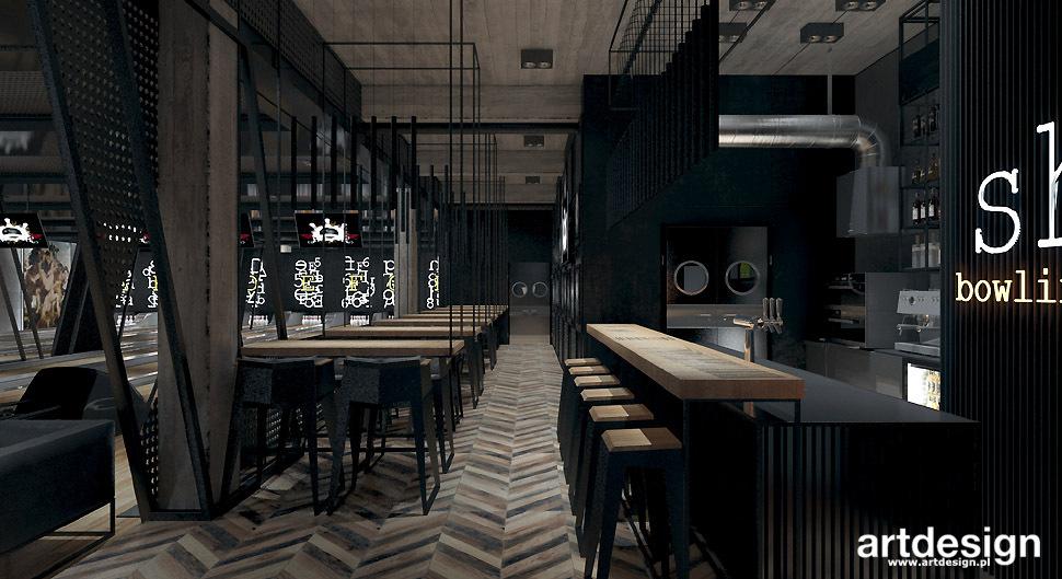projekt wnetrz restauracja