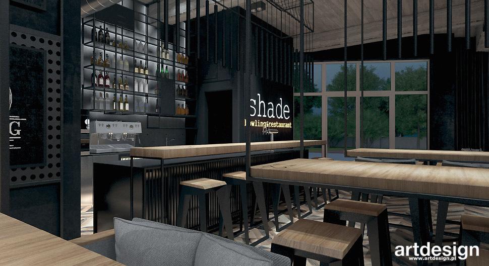 architekt wnetrz bar restauracja