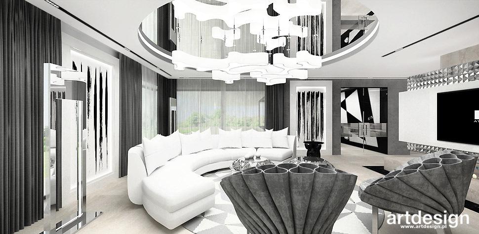 aranzacja salonu trendy design