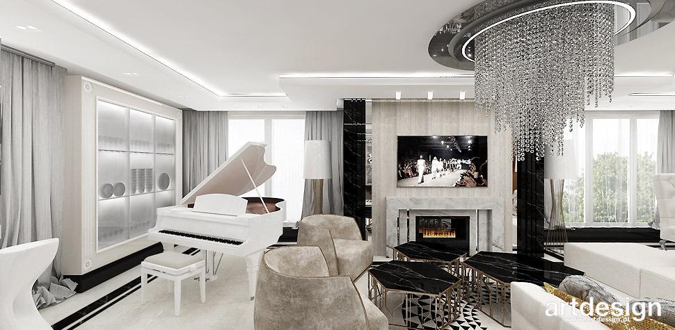 luksusowy salon apartament