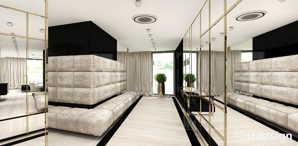 luksusowe aranzacje dom hol