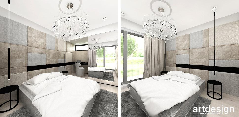 nowoczesny projekt sypialni