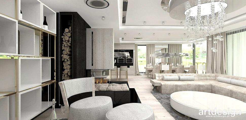 luksusowe wnetrze salonu