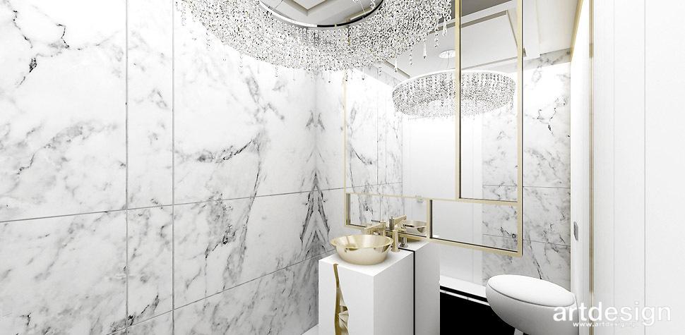 wyszukane projekty wnętrz łazienek