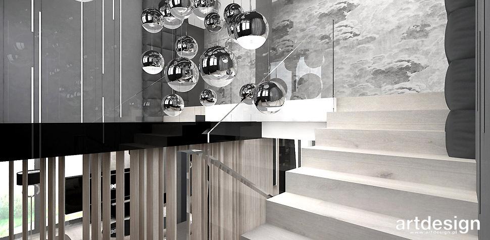 wnętrza projekty schodów