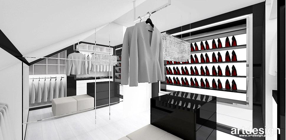 projektowanie wnetrz garderoba